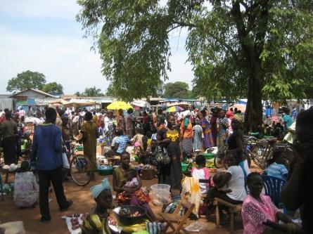 Local market (Yambio, South Sudan 2012)