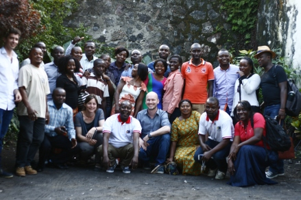 Research team in DR Congo (2016)